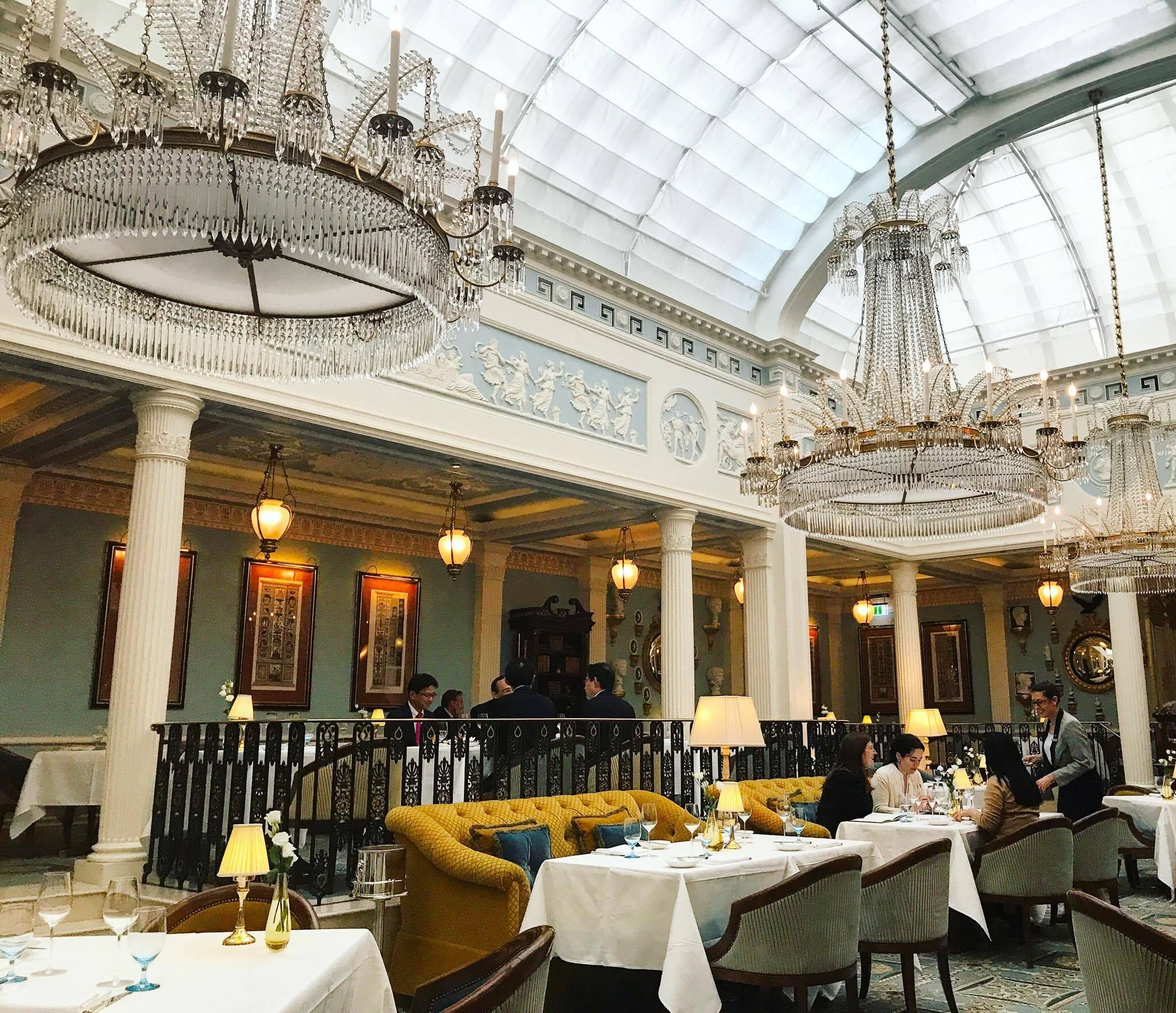Celeste Restaurant London Contact